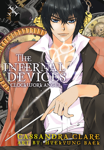 THE INFERNAL DEVICES: THE MANGA story by Cassandra Clare, art by HyeKyung Baek